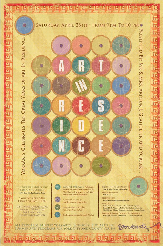 Art in Residence poster