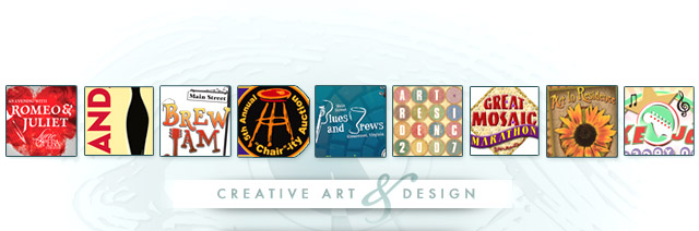 Creative Art marketing and design