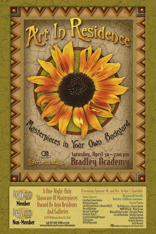 Art in Residence - Poster Design