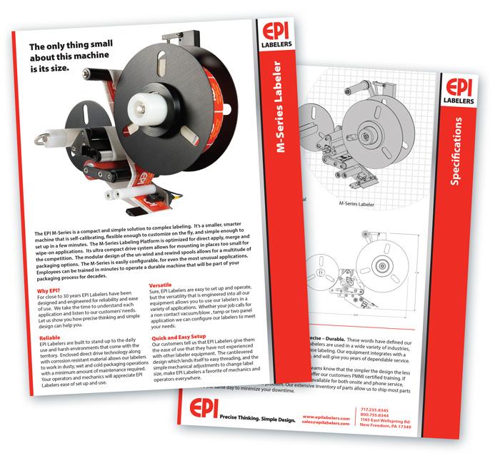 EPI Product Sheets