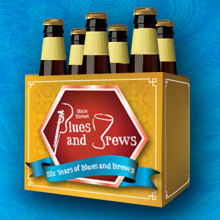 Blues and Brews Six Pack Icon