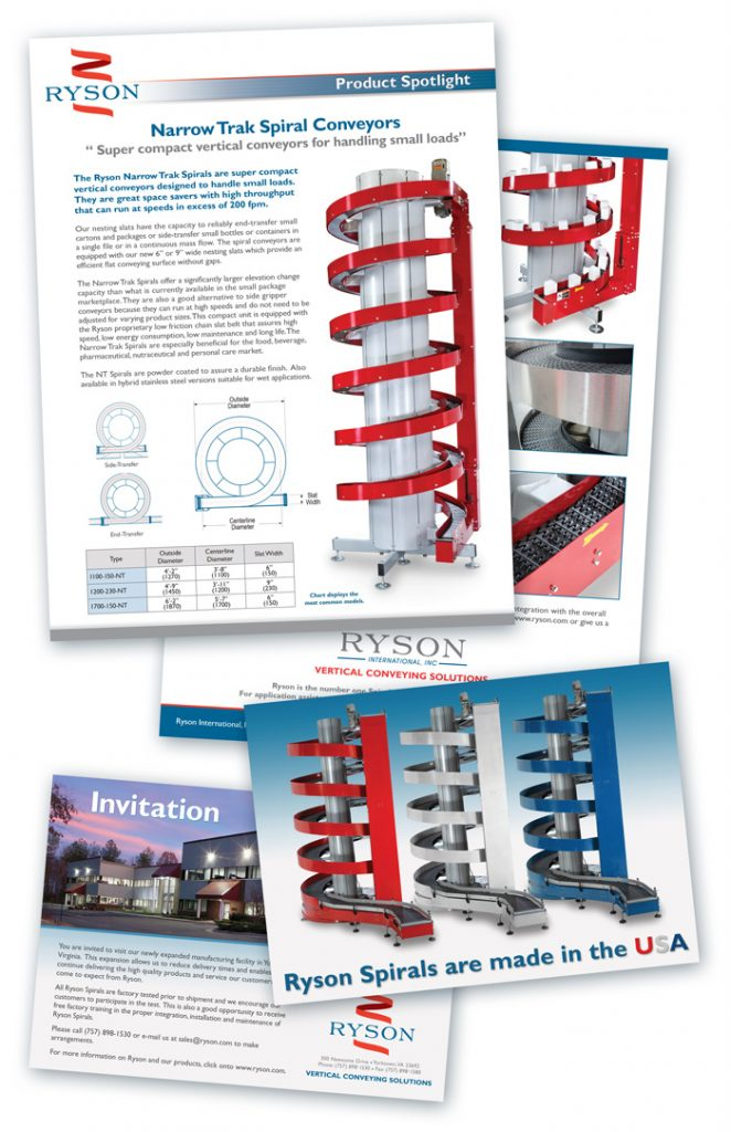Ryson Design and printed Materials